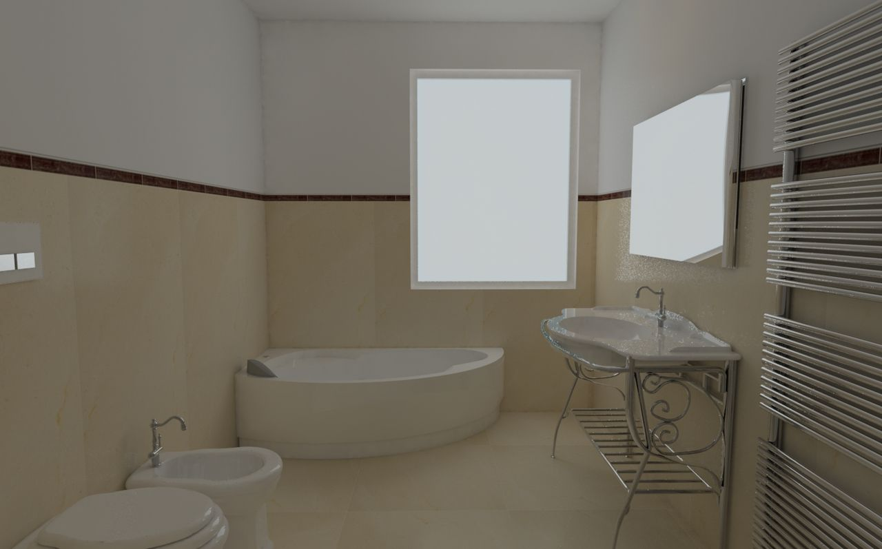 Large Bathroom Designs Enchanting New # 3D # Bathroom # Designgiuseppe Politi Design Decoration