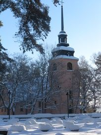Säynätsalo church in Jyväskylä, Central Finland.