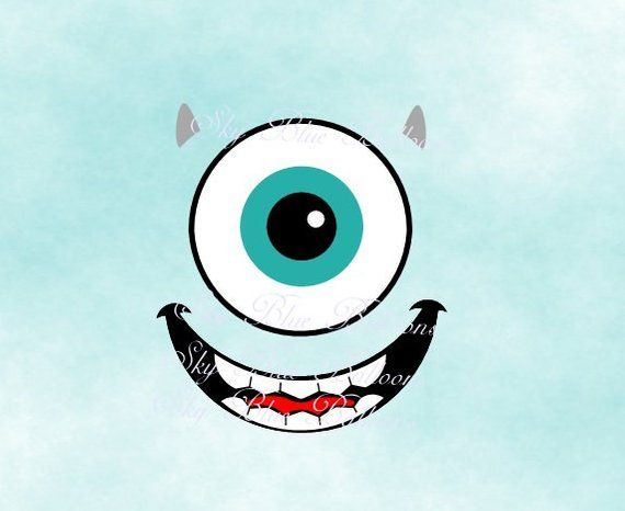 Monster svg mike wazowski svg halloween svg halloween maternity