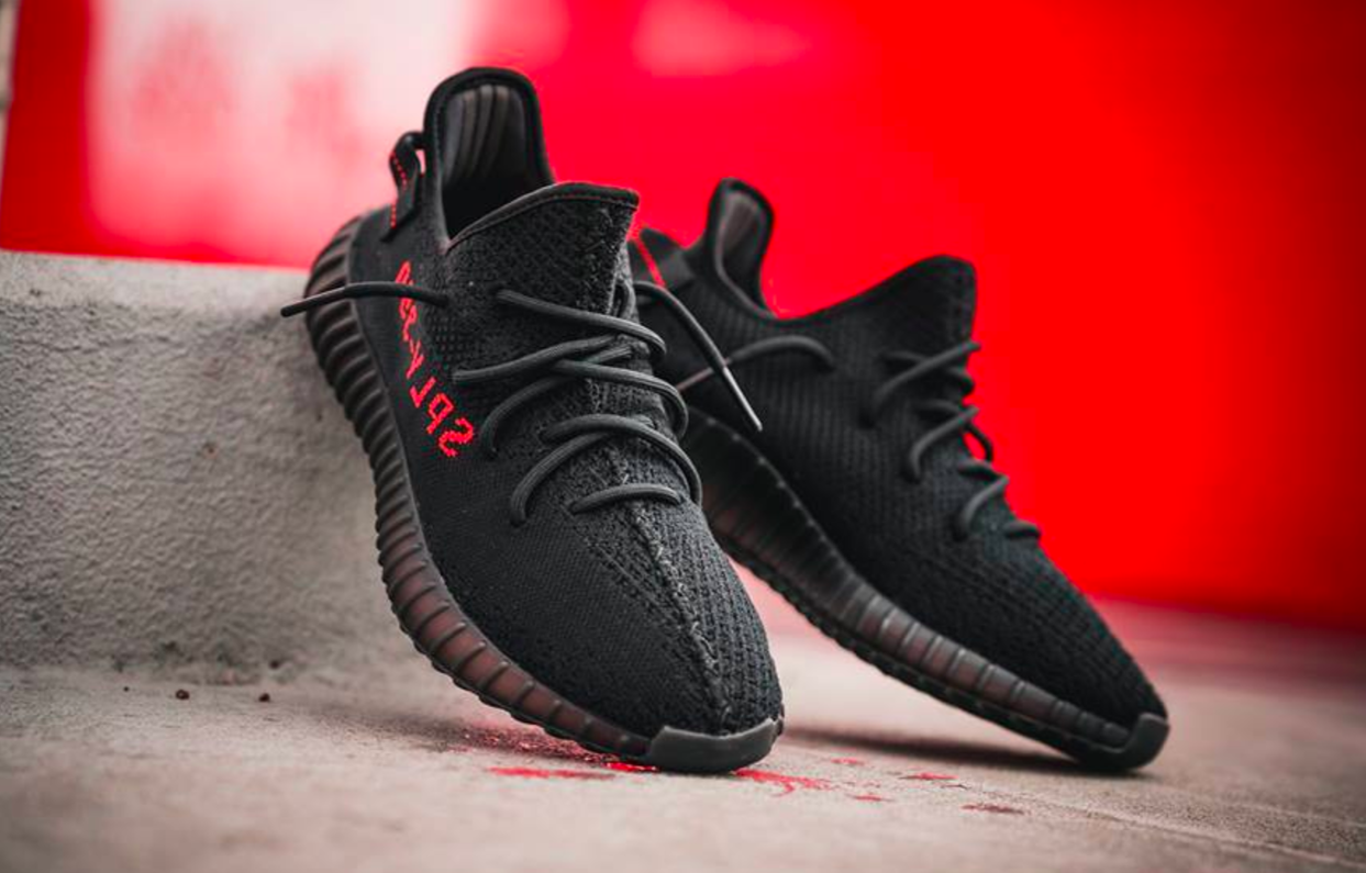 The adidas Yeezy Boost 350 v2 Black Red Drops Next Weekend ...