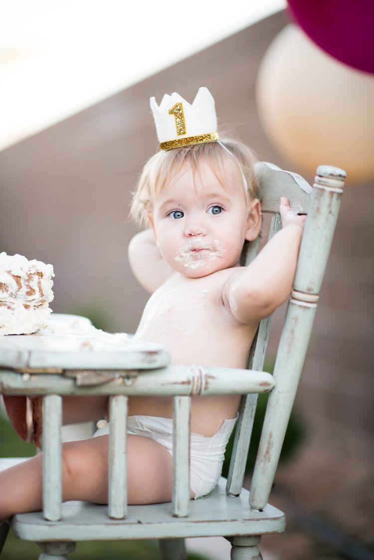 Isla's First Birthday Outfit + Cake Smash Birthday cake