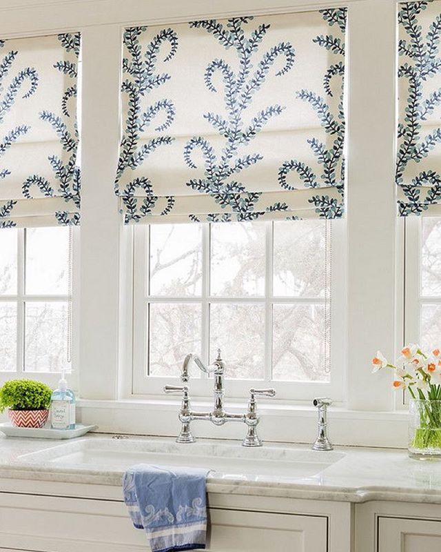 Kitchen Window Coverings: Drapery And Curtains