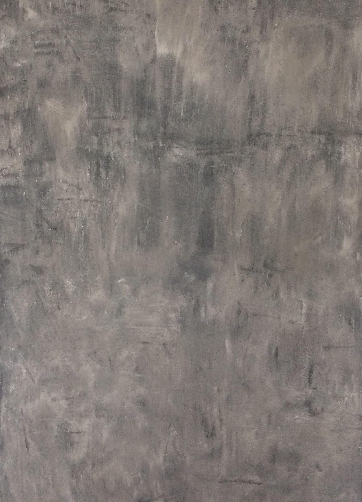 Betonlook verf op de muur Kleur warm beige primer grijs