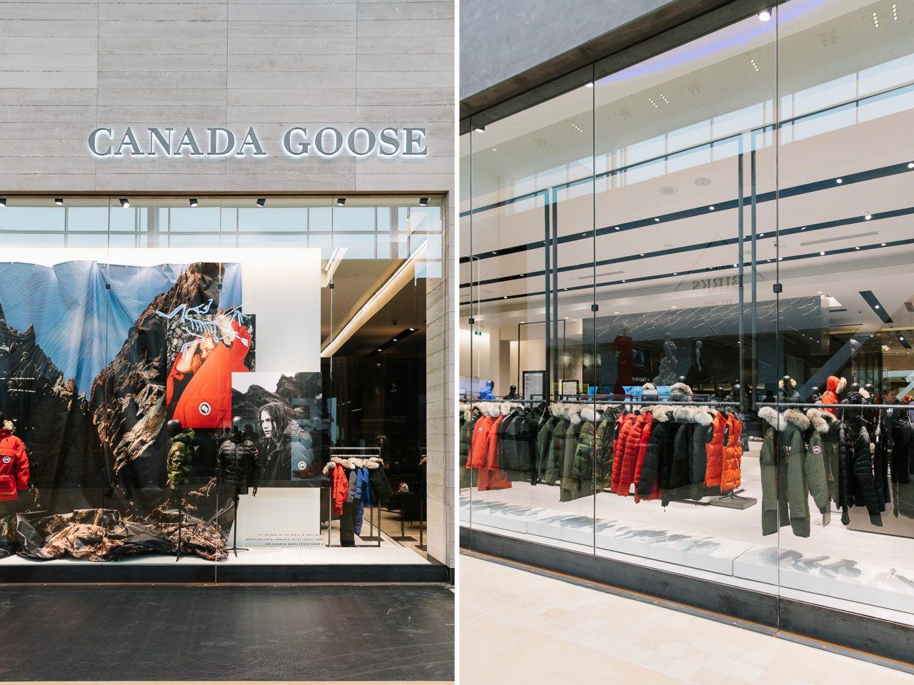 Canada Goose Global Flagship Ania B Canada Goose Canada Canada Goose Store