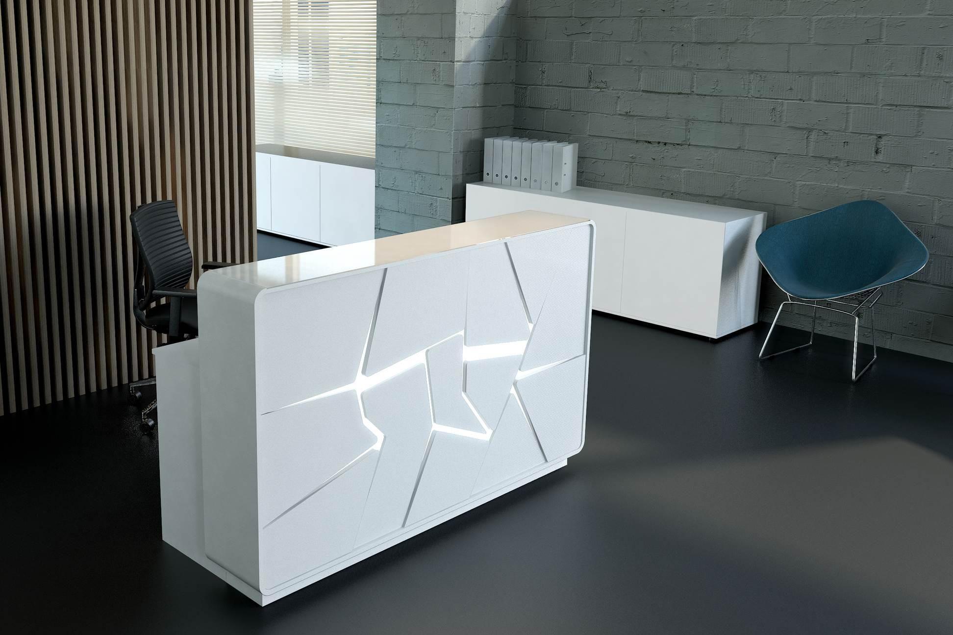 Banco reception collezione arctic mdd office design for Mobili da reception