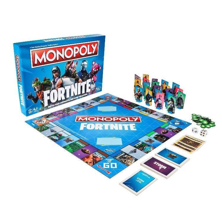 Fortnite Monopoly Limited Preorder Jogos De Tabuleiro Fortnite Monopoly