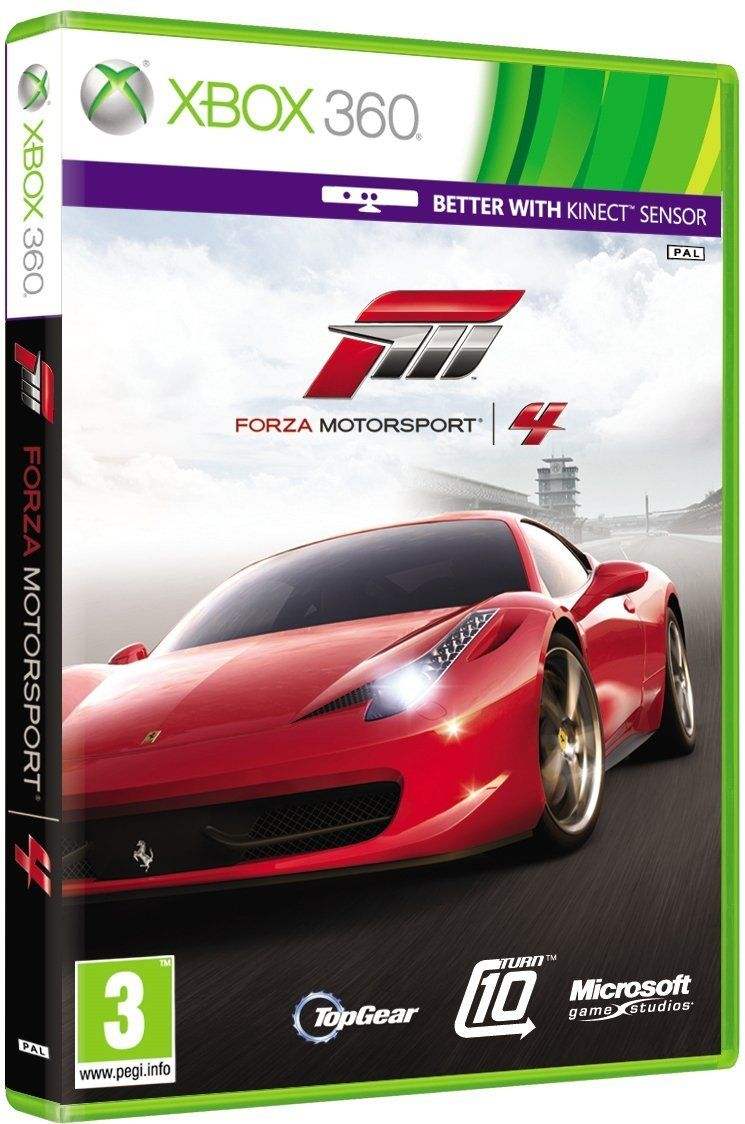 forza motorsport 4 was the 4th game of the series which