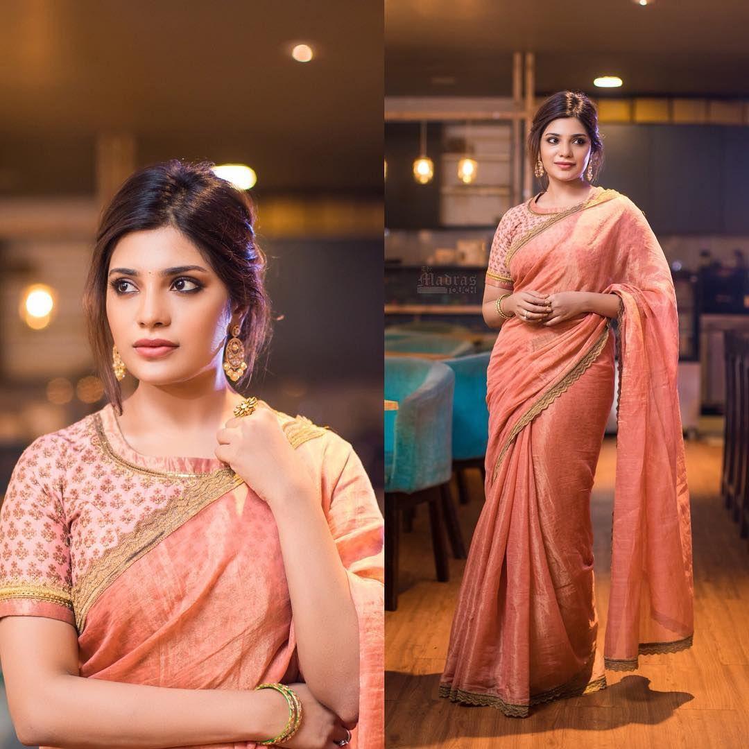 Modern saree models  modern saree blouse designs u ideas for stylish look  cool saree