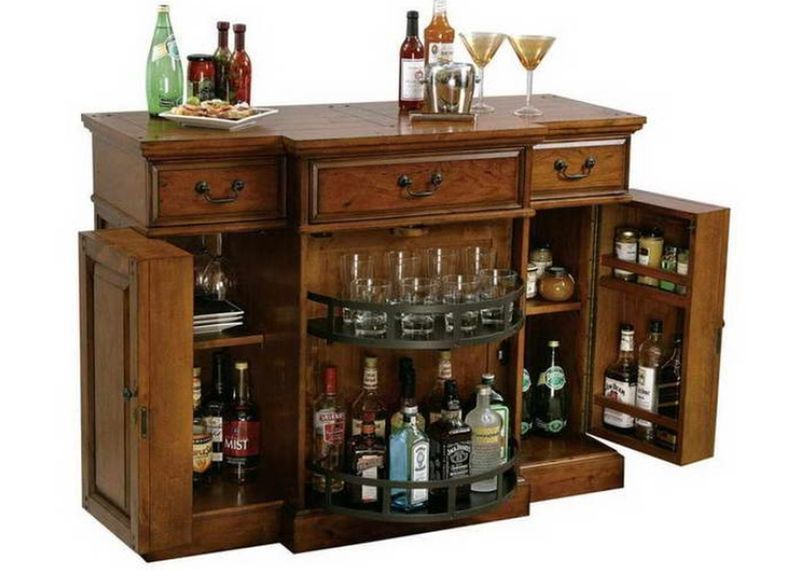 New Alexandria Expandable Bar Cabinet