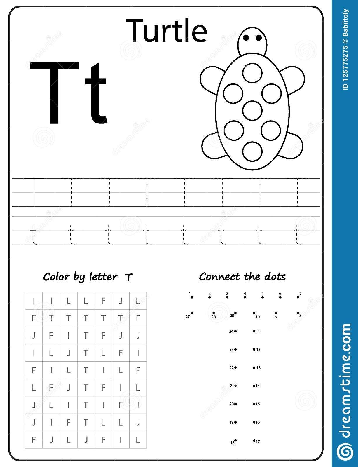 6 Printable Alphabet Letter Worksheets In 2020 Letter T Worksheets Alphabet Worksheets Preschool Writing Practice Worksheets