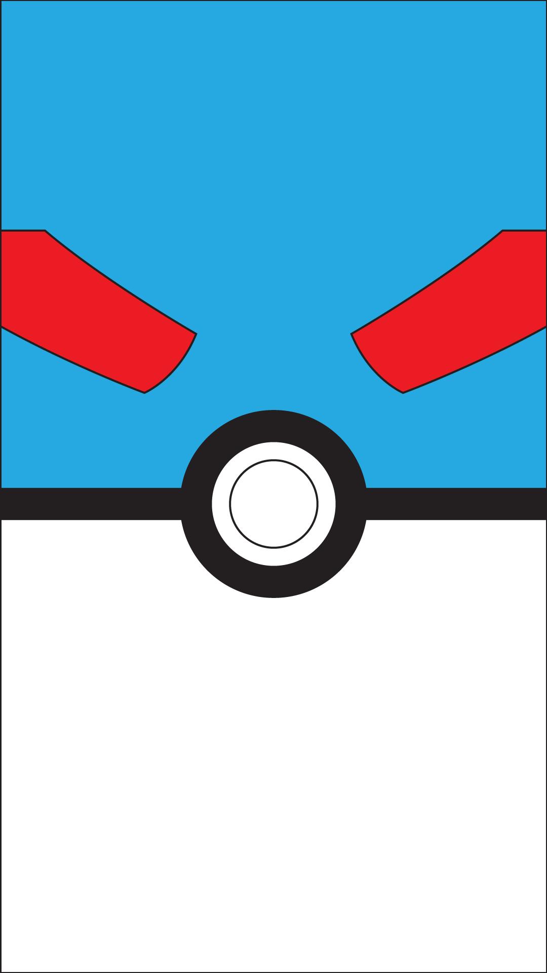 Great Ball Pokeball Pokemon Poke Ball Nintendo Minimalist Wallpaper Pokemon Ideias De Papel De Parede Ideias