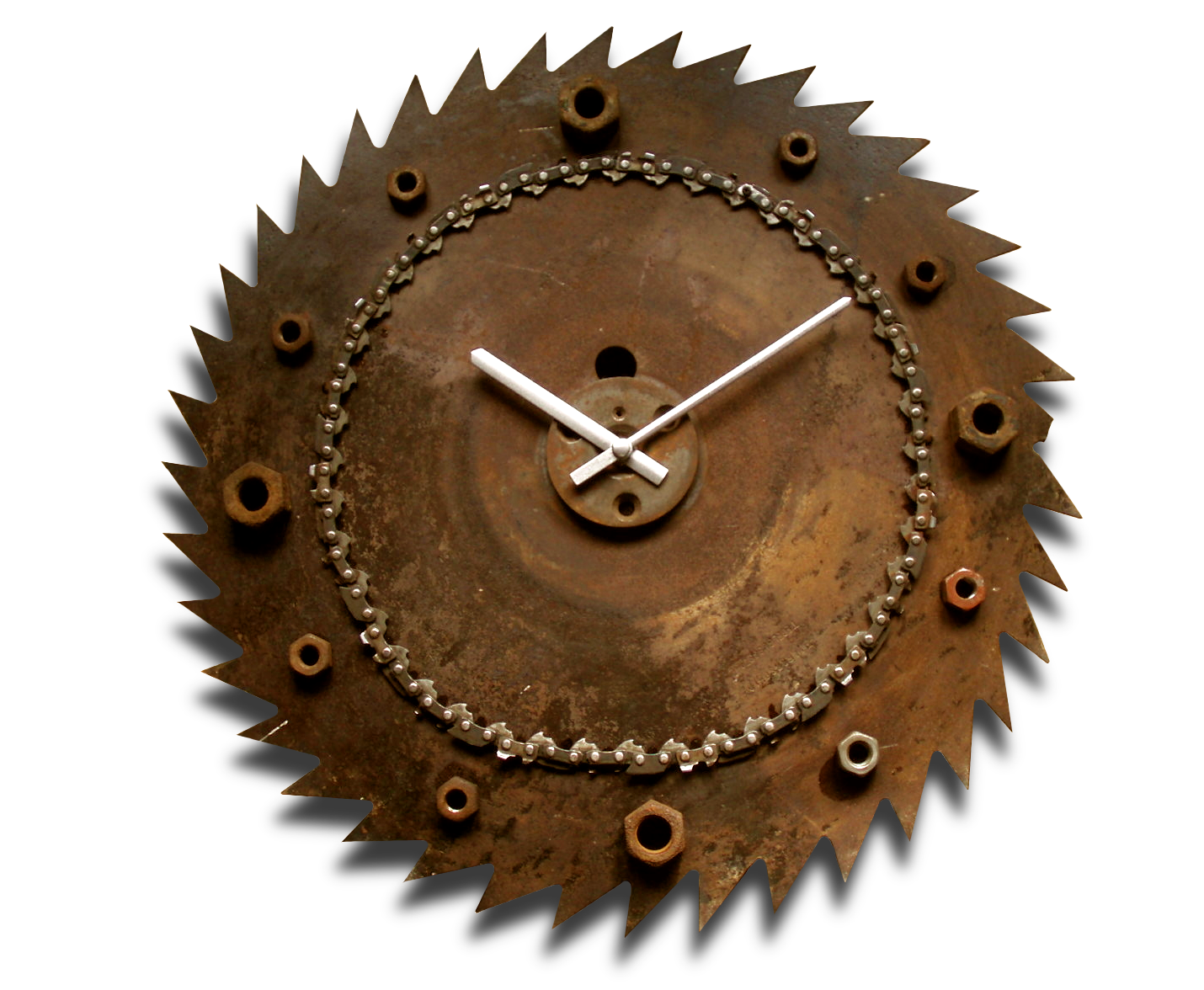 Reloj De Pared Fabrique Natural Clocks Pinterest