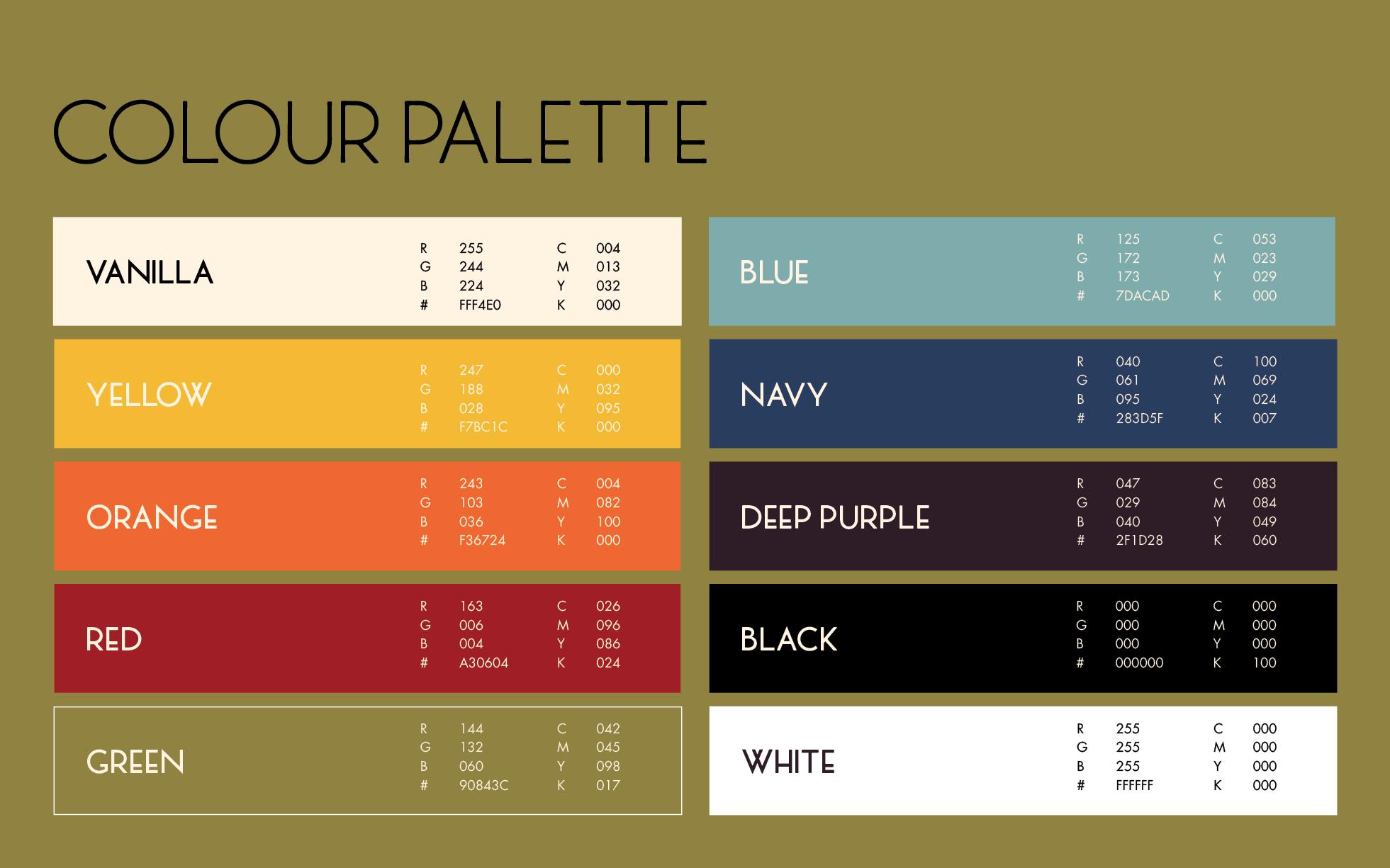 colour palette details nesting art deco colors art. Black Bedroom Furniture Sets. Home Design Ideas