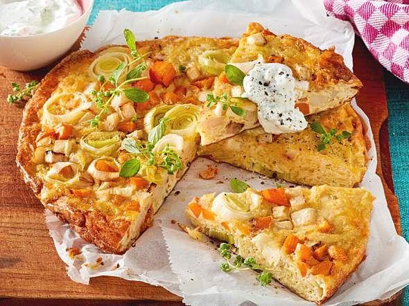 Gemüsetortilla Rezept | LECKER #vegetarischerezepteschnell