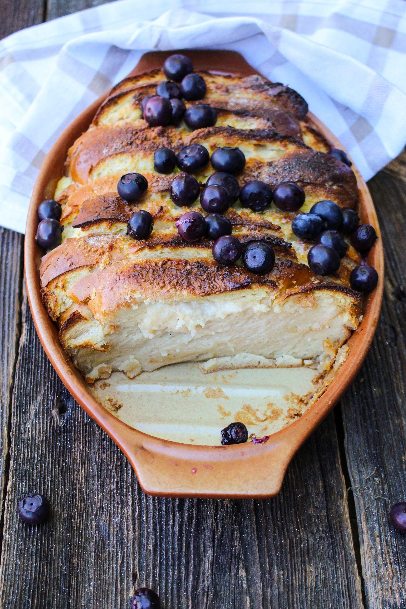 Zapiekanka Sniadaniowa Z Tostow Francuskich Z Jagodami Desserts Baking Food