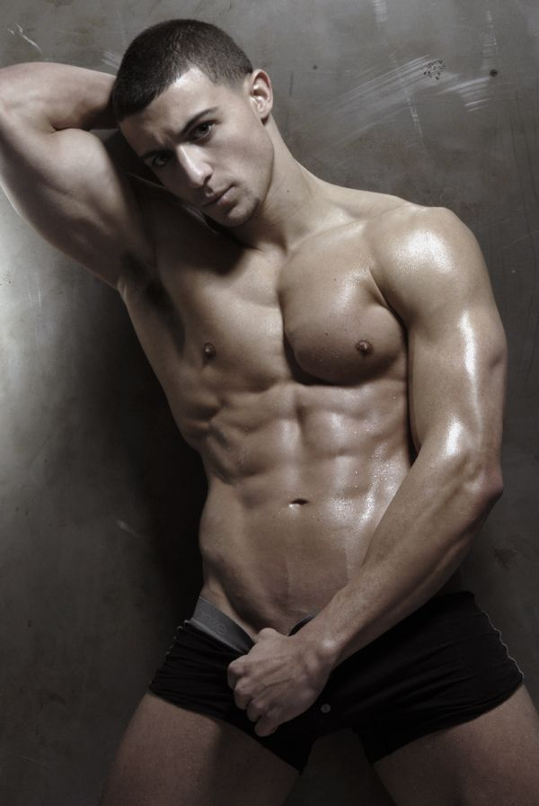 Ripped hot muscular stud