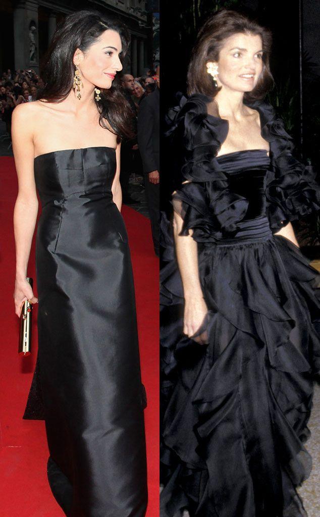 Jackie o style black dress hats