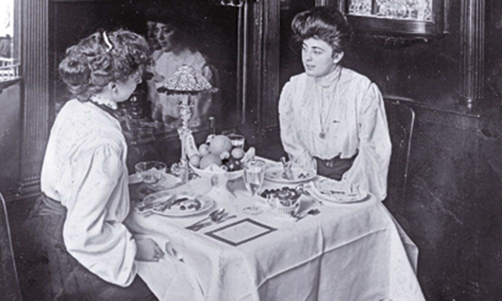 Iron Ladies of the American Railroad Old west saloon