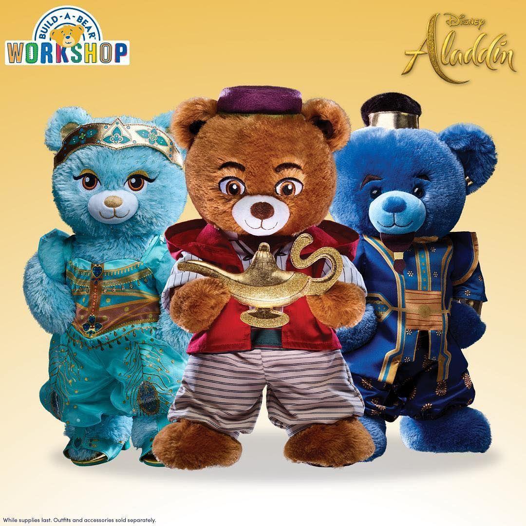 Build A Bear Workshop Aladdin/'s Jasmine Genie Outfit