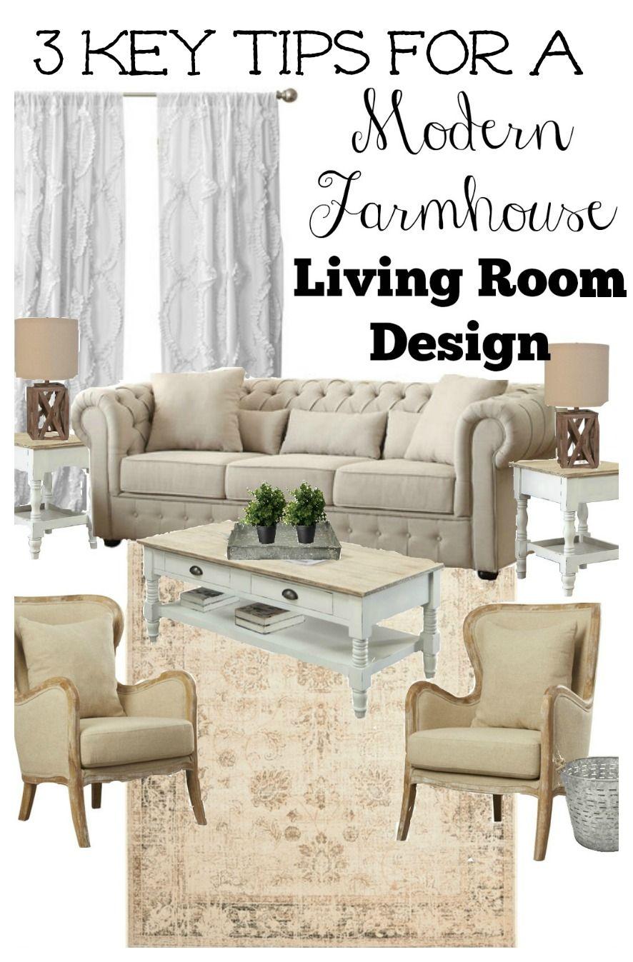 3 Key Tips For A Farmhouse Style Living Room Modern Farmhouse