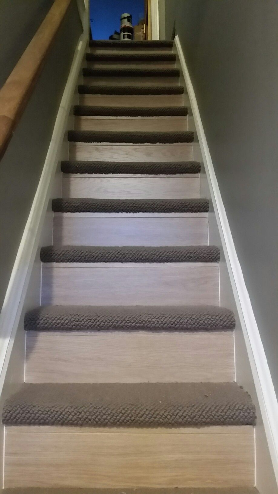 Best Stairway Renovation Quickstep White Varnished Oak And 400 x 300