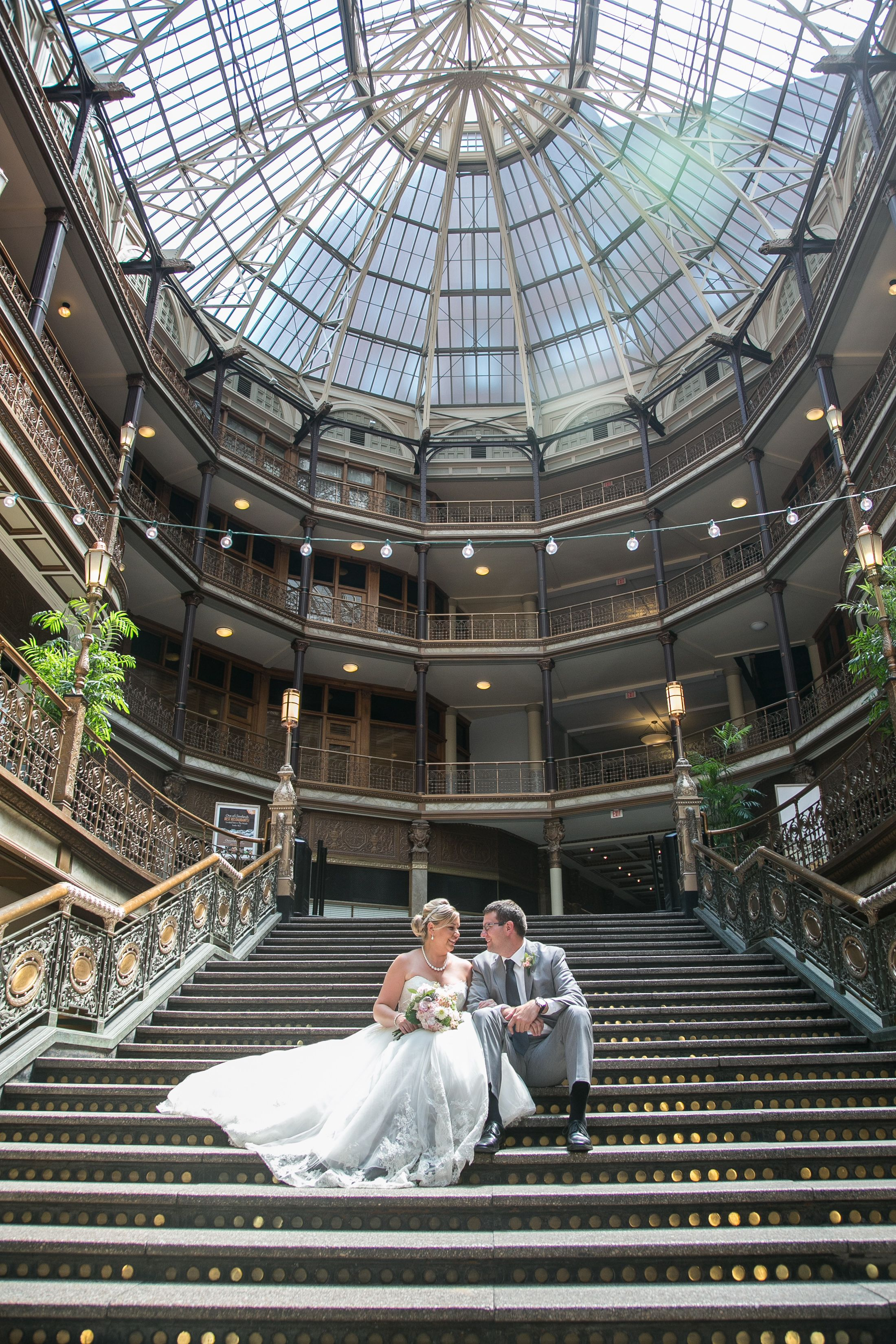 Cleveland Wedding The Arcade In Cleveland Cleveland Wedding Photos Wedding Venues Ohio Cleveland Ohio Wedding Venues Cheap Wedding Venues