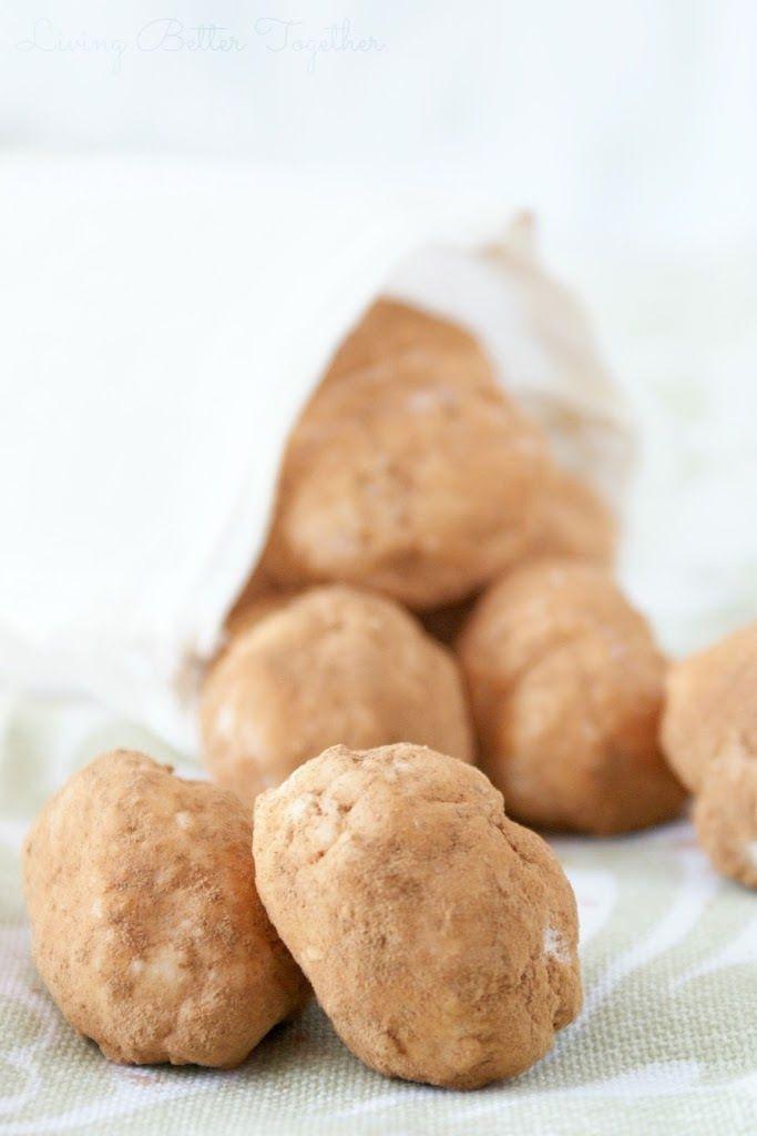 Irish Potato Candy - Living Better Together