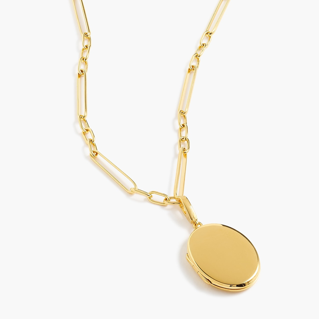3c34d1ecc29 Demi-Fine 14K Gold-Plated Locket | Products | Gold, Gold necklace ...