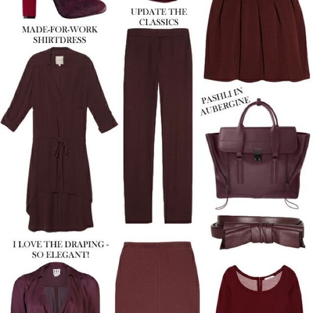 "Oxblood. Pretentious and somewhat icky word for brownish red. Don't mind the color. Don't ""get"" the word. That's probably not even the color that oxblood actually is."