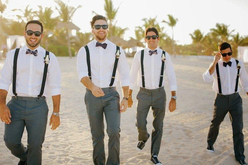 Complete Groomsmen Attire Guideline For Beach Weddings