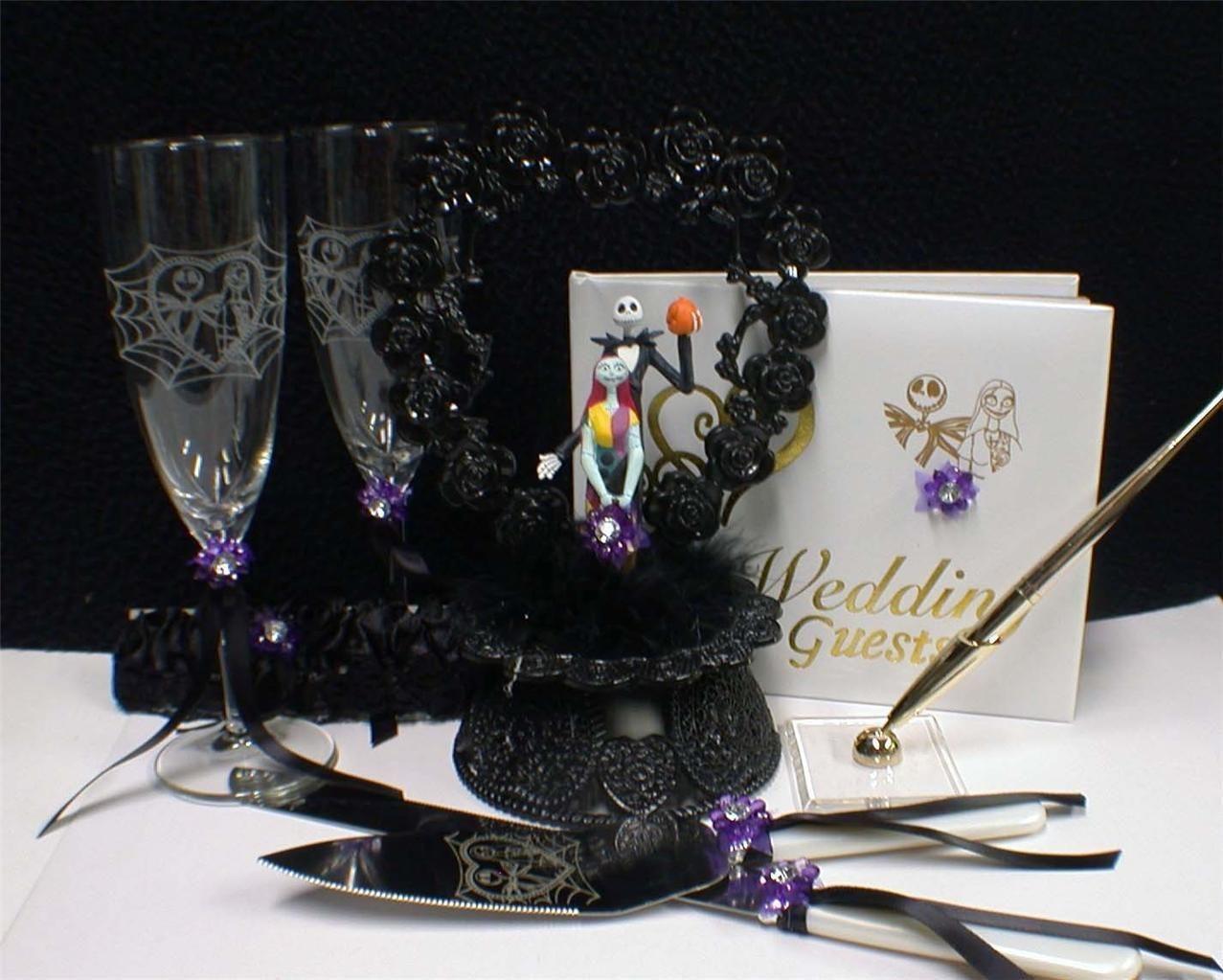 nightmare before christmas wedding theme | wedding cake toppers ...