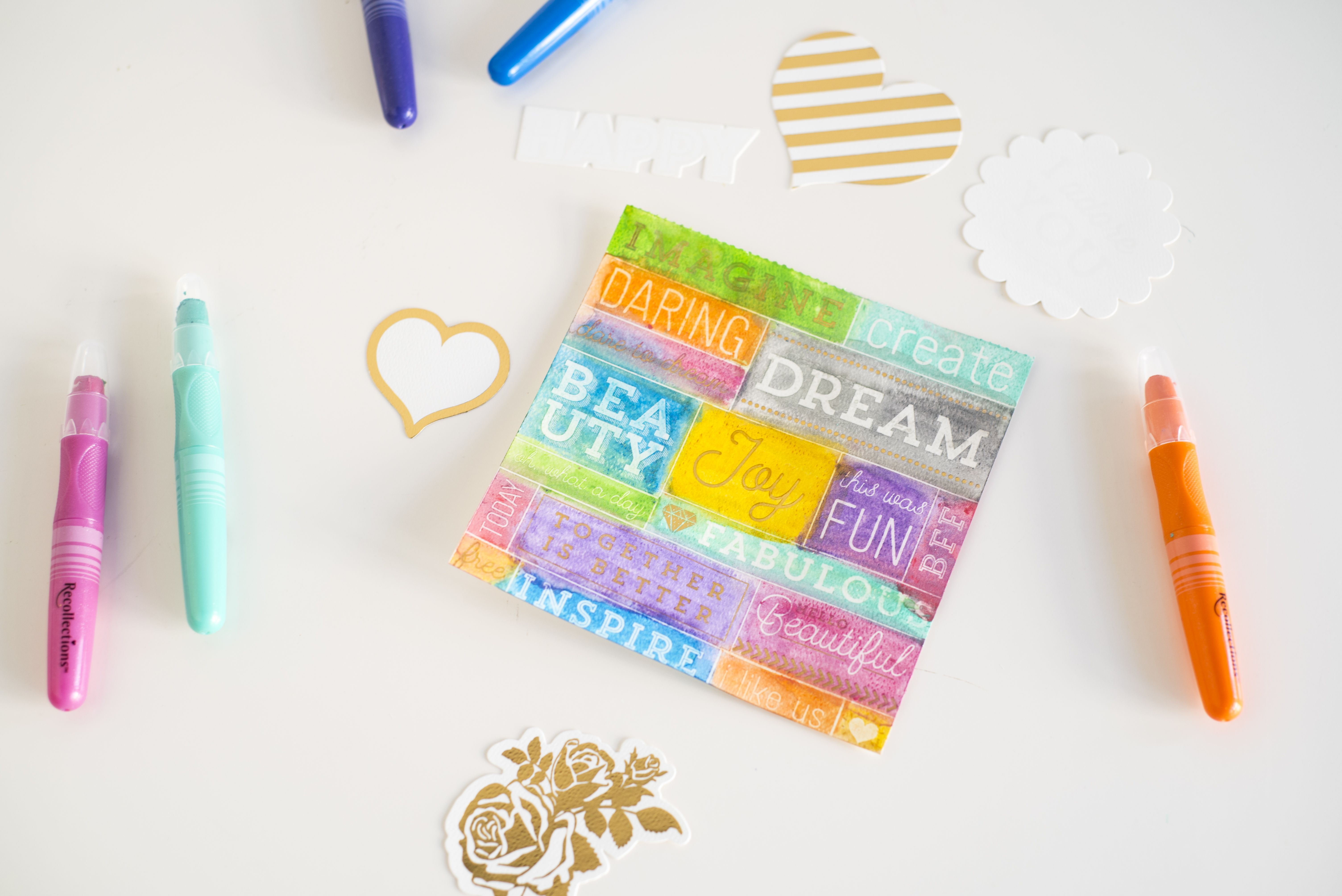 New Recollections Color Splash Collection michaelsstores now