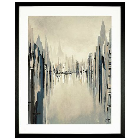 Buy gregory lang metropolitan afternoon framed print 59 x 49cm online at johnlewis