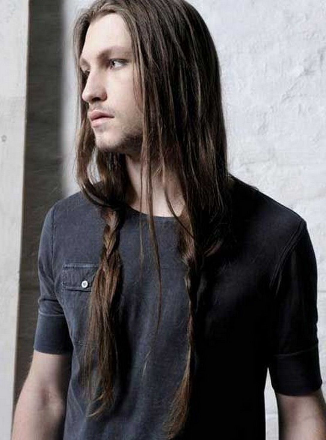 Hairstyles For Men With Long Hair Braids Long Hair Styles Hair Styles Mens Braids Hairstyles