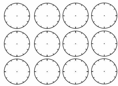 Worksheets Blank Clock Face Worksheet Printable number names worksheets blank clock faces to print coffemix