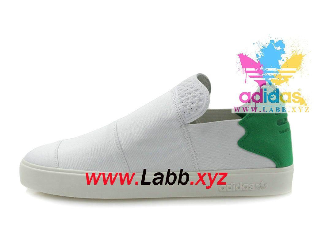 Adidas consorzio x pharrell elastica scivolare su pw blanc vert aq4920
