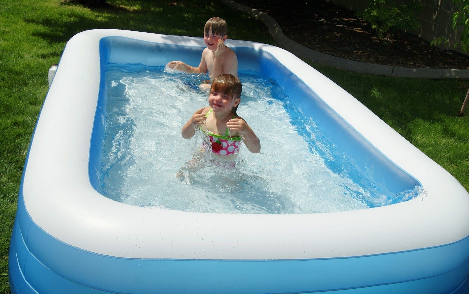 Adventures With A And A Kiddie Pool Life Hack Kiddie Pool Pool Life Pool