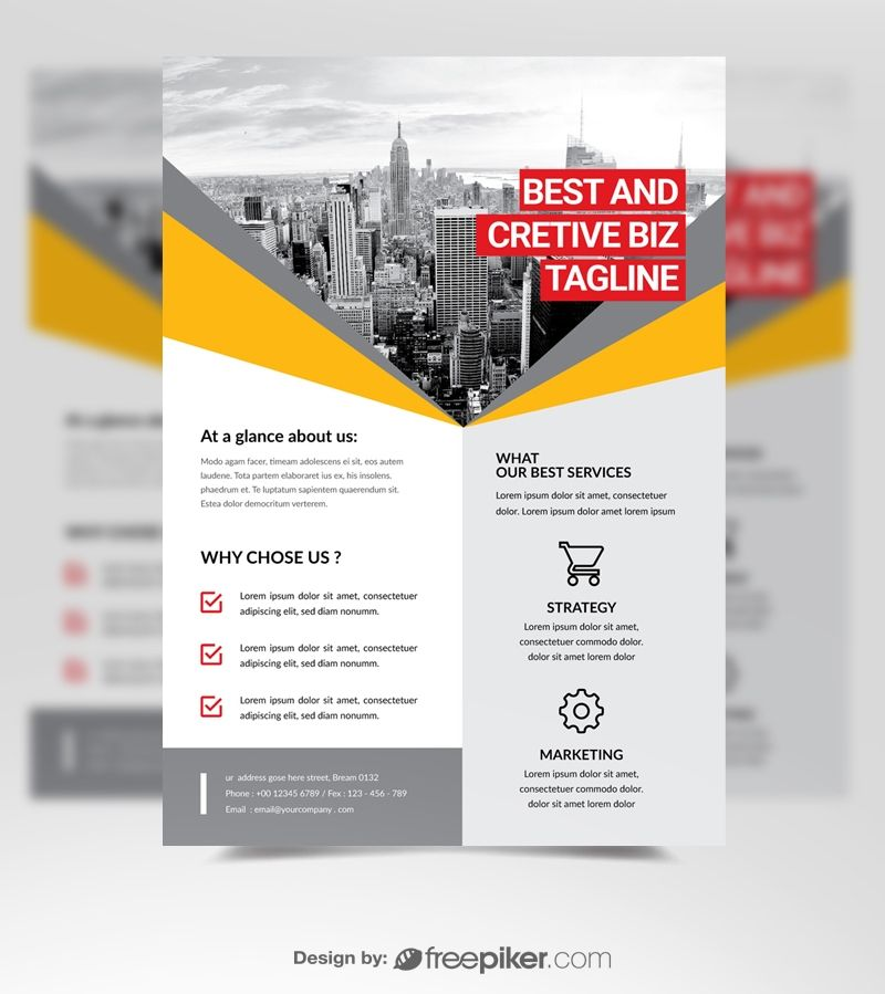 Corporate business flyer business flyer flyer