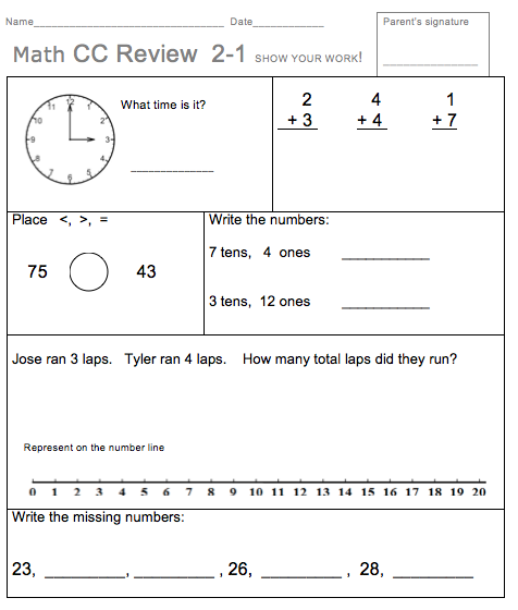 Homework For 2nd Grade - Laptuoso
