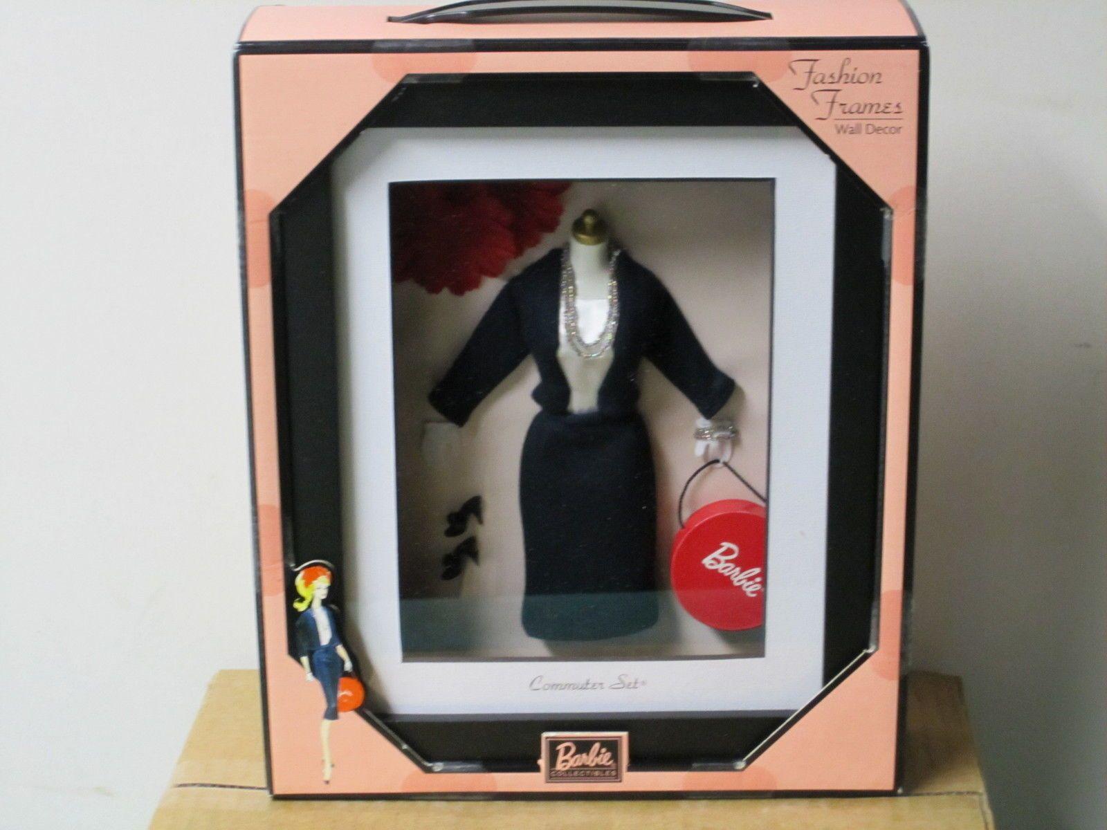 barbie shadow box fashion frames wall decor commuter set ebay - Ebay Picture Frames