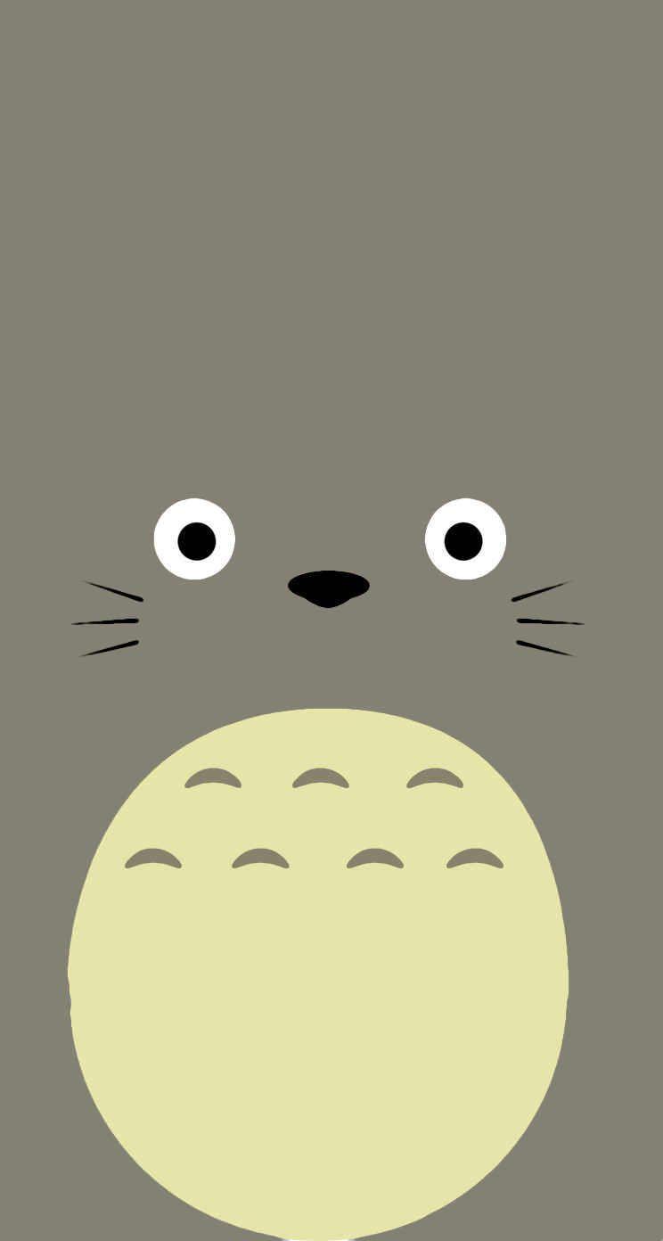 人気42位 ジブリアニメ となりのトトロ かわいい 壁紙 Iphone