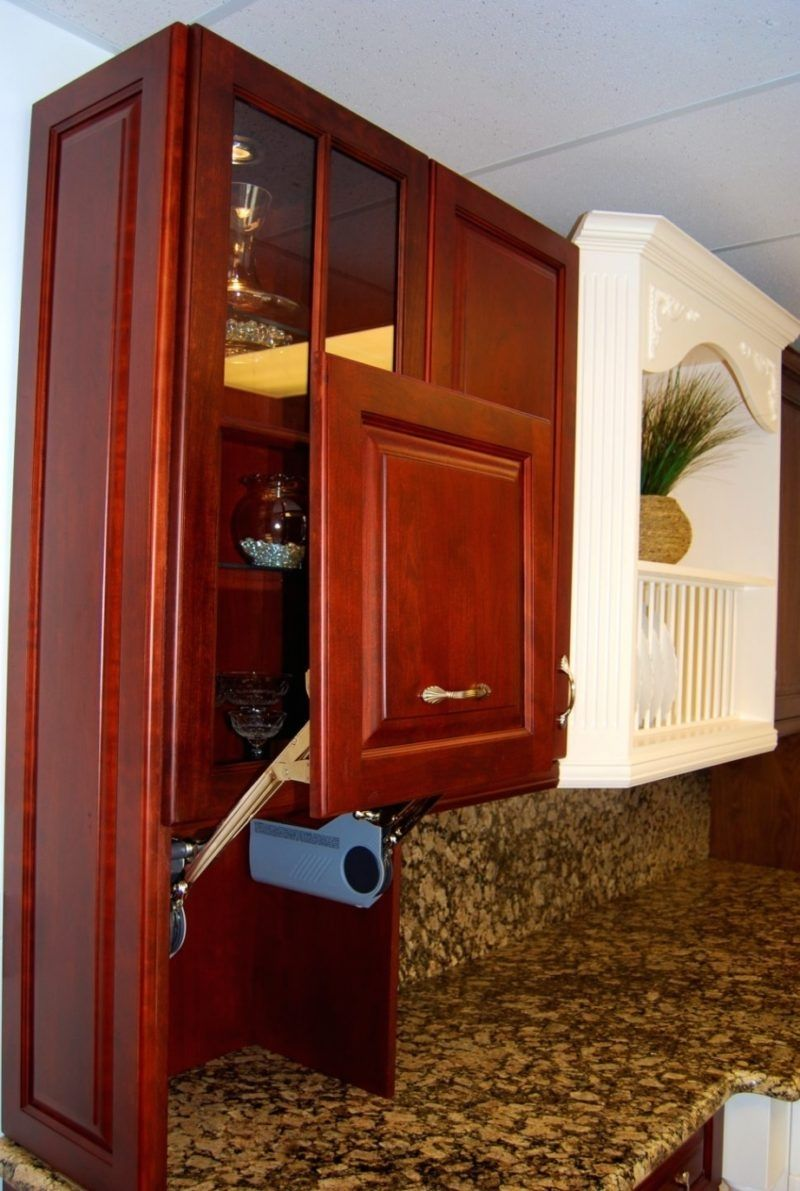 Roll up doors for kitchen cabinets advicetips