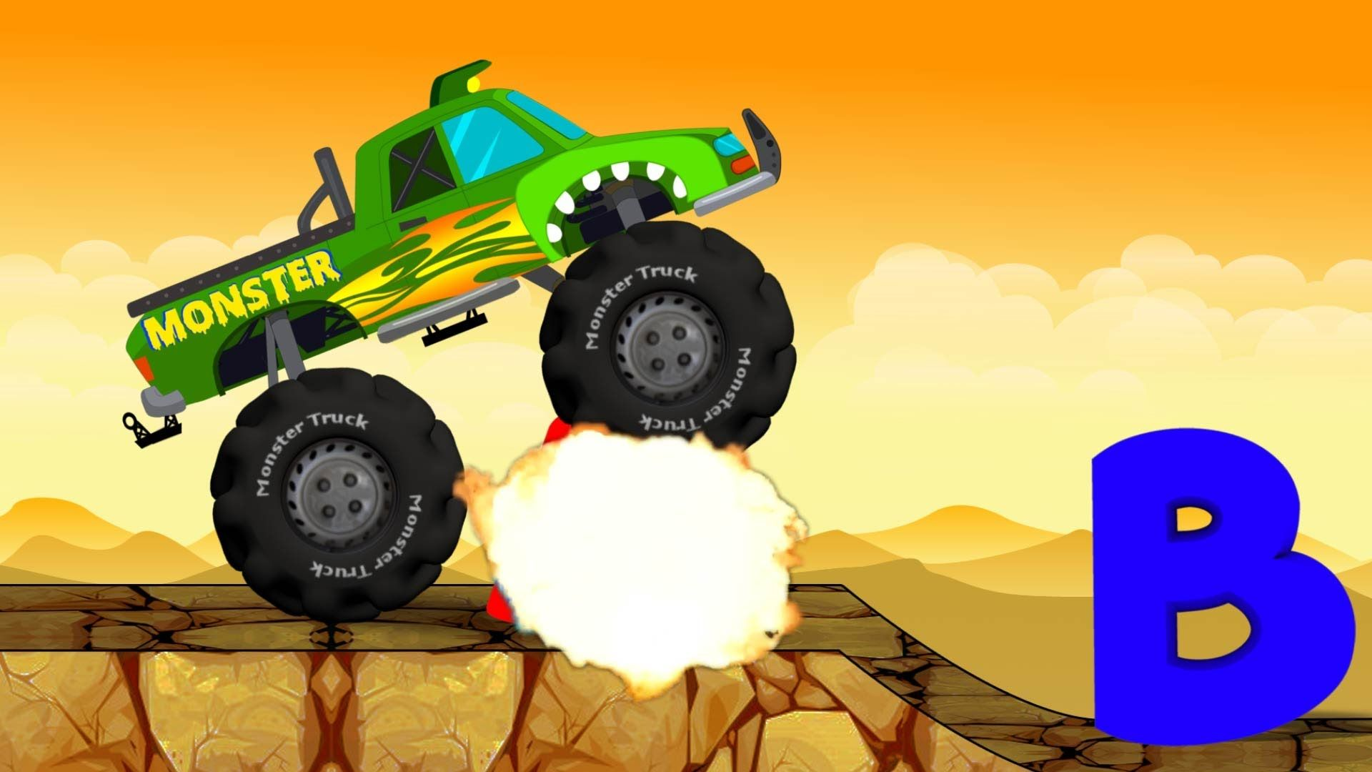 Monster Truck Destroyer Abc With Images