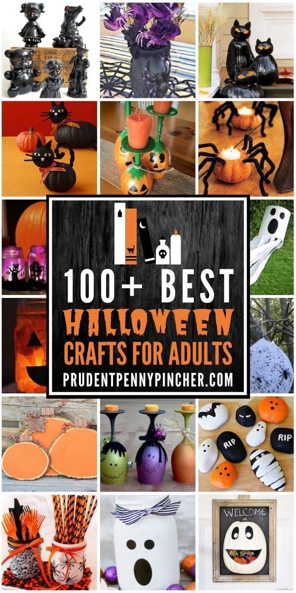 Photo of 100 Best Halloween Crafts for Adults