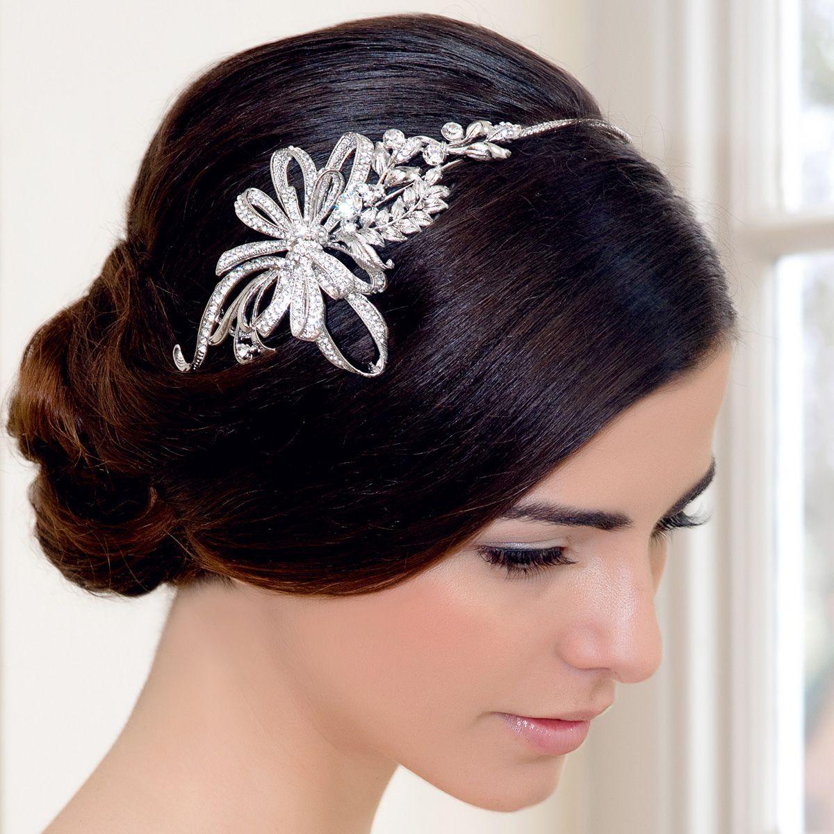 treasure of beauty side tiara | bridal hair accesories