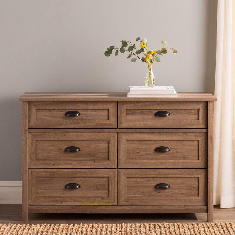 Leeds 6 Drawer Dresser