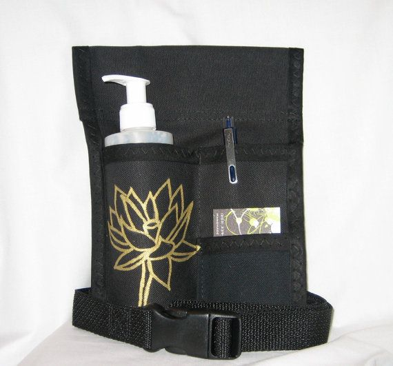 Made To Order 3 Pocket Massage Holster Left Hip Hand Painted