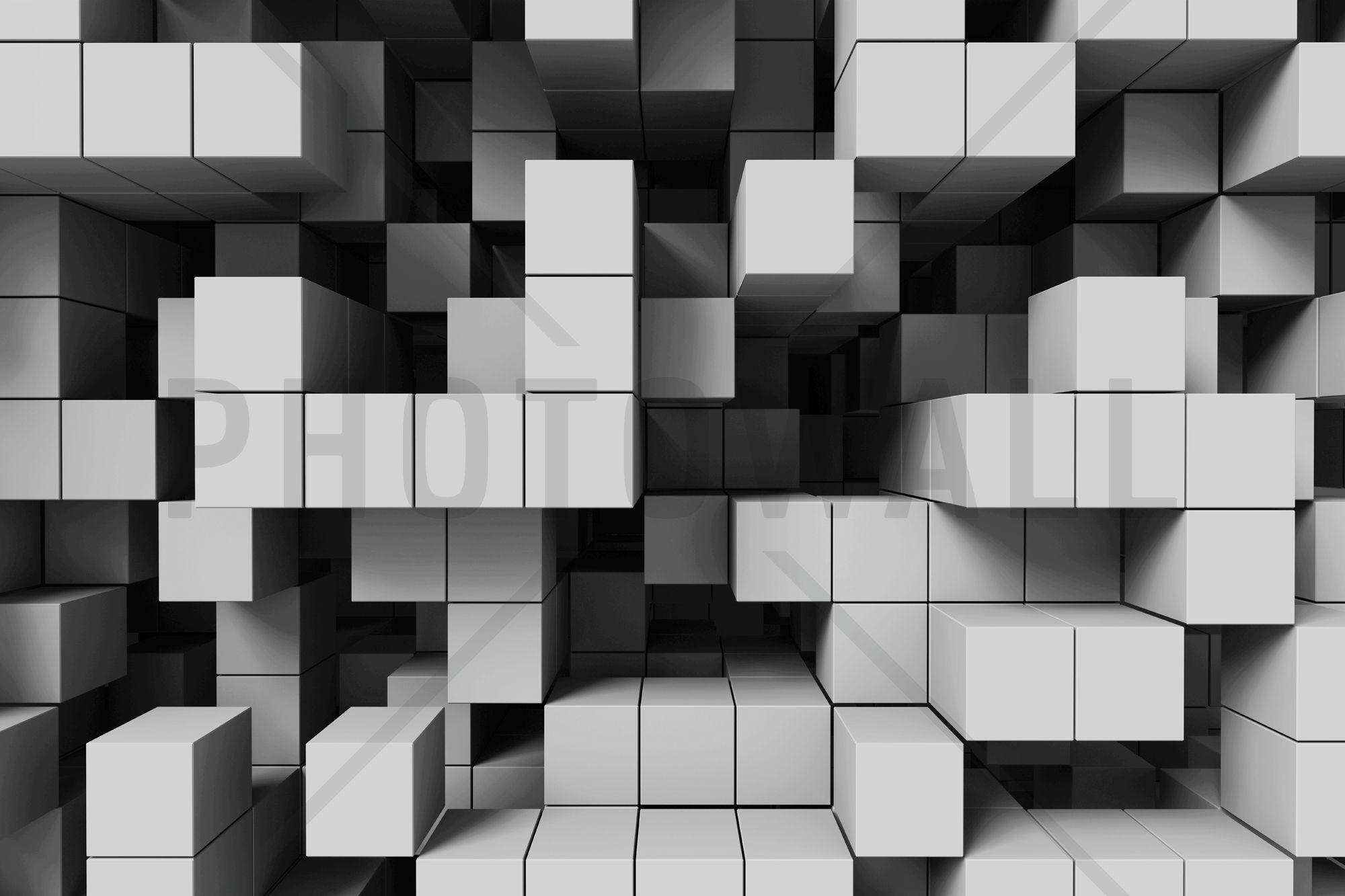 Deep Tetris Light Grey Fototapety Light Grey Walls Wall Murals Photo Wallpaper