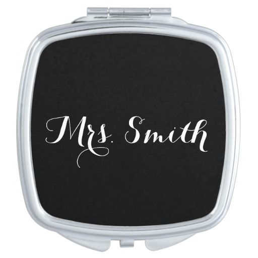 The New Mrs. Bridal Compact Makeup Mirrors