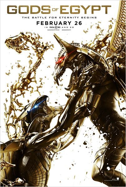Deuses do Egito - Poster